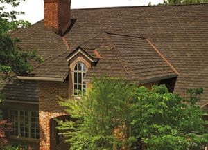 Edmonton Roofers - sloped roof shingled home