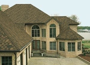 roofing contractors edmonton - shingles and eavestroughs on replaced roof home